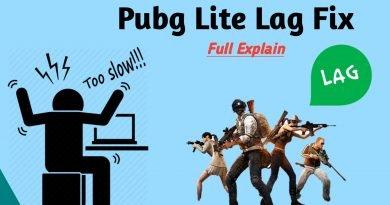 PubG Lite Lag Fix