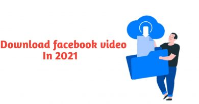 Download facebook video in 2021