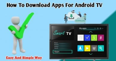 How to download app for Android tv