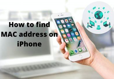 How to find MAC address on iPhone