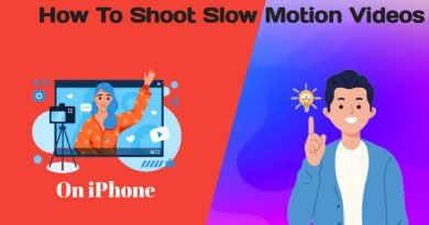 How to shoot a slow-motion video on iPhone in 2021
