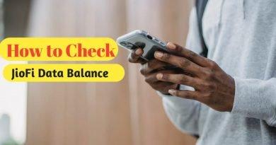 How to check JioFi Data Balance In 2021