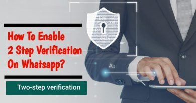 How to enable 2 step verification on WhatsApp