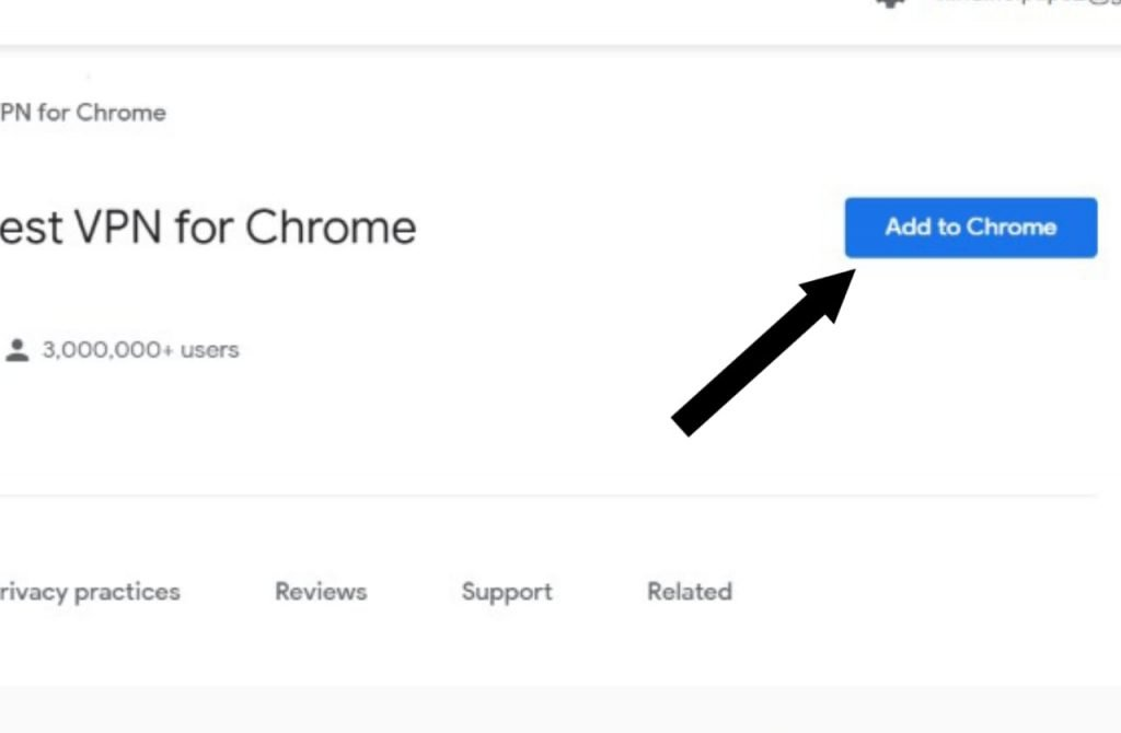 Click On Add To Chrome Option