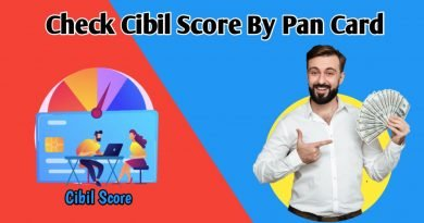 How to check Cibil score By Pancard