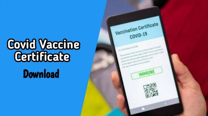 How to download covid vaccine certificate From Whatsapp