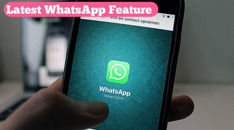 whastapp features