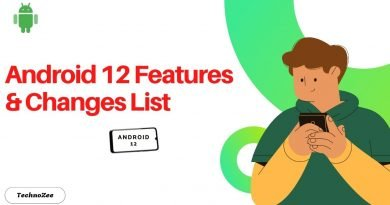 Android 12 features and changes list