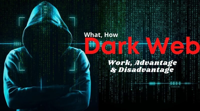 What is deep and Dark Web?