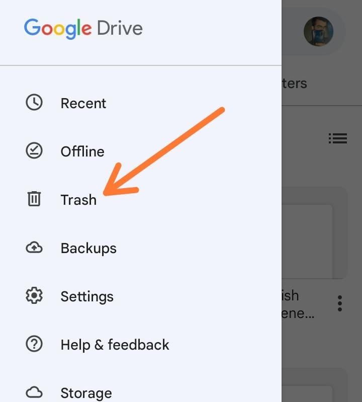 recover deleted files from google drive 2