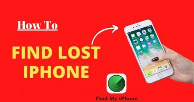 How to find lost iPhone?