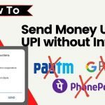 How to send money using UPI without internet in 2021?