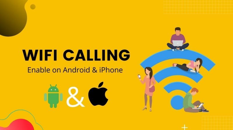 How to enable Wifi calling on android or iPhone