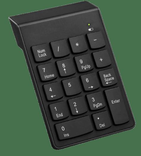 COOLCOLD Wireless Numeric Keypad