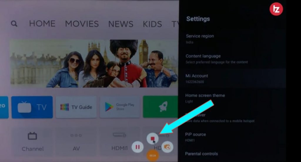 Android TV Screen Recorder