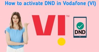 how to activate DND in Vodafone (VI)?