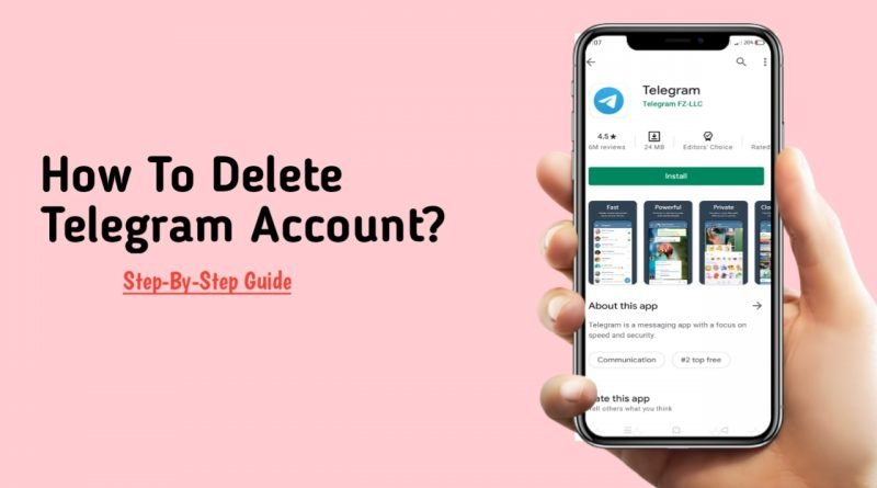 how to delete telegram account?