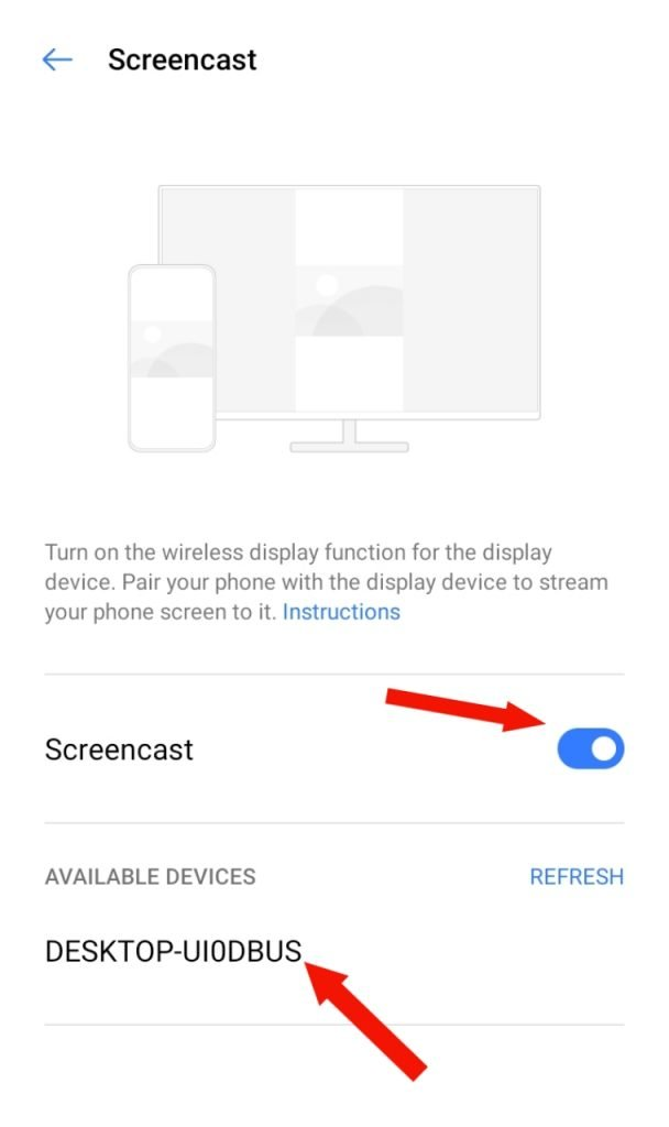 How to Cast Mobile Screen On Laptop In 2020