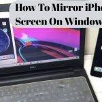 How to mirror iPhone screen On Window in 2021 {Best Way}